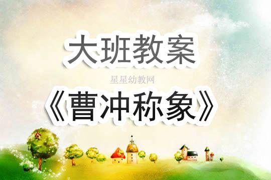 幼儿园曹冲称象教案_幼儿园大班教案《曹冲称象》含反思 - 星星幼教网